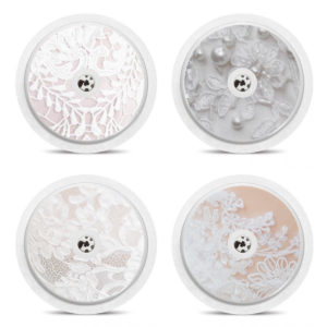 Set of 4 Freestyle Libre Lace Themed Stickers